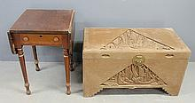 Asian camphorwood storage chest 22
