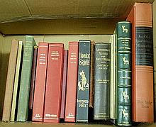 Books- 14 vols. equestrian and sporting subjects to incl. Maryland Hunt Cup, Chase of Wild Red Deer, etc.