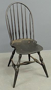 Windsor bow-back side chair, c.1830. 37