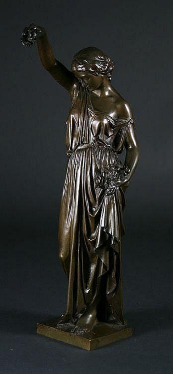 Millet, Aimé 1819 -1891 A Classical Bronze