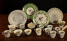 A Collection of 18th & 19th Century Ceramics to