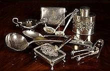 A Collection of Silver Plated Wares. A small