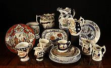 A Collection of Decorative 19th Century Ceramics.
