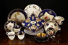 A Collection of Decorative 19th Century Ceramics