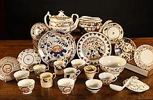 A Collection of 19th Century Ceramics: A Derby
