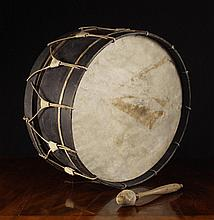 A Late 18th/Early 19th Century Military Drum from