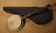 A Cased Banjo; The Windsor popular No 1 model,