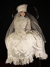 A Bisque Headed Doll by Schoenau & Hoffmeister