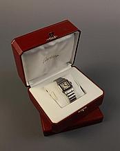 A Cartier Gentleman's Quartz Wrist Watch, water