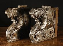 A Pair of Good Early 16th Century Walnut Choir