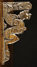 A Late 16th/Early 17th Century Oak Bracket carved