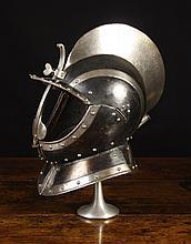 A South German Burgonet Helmet in the 'Black &