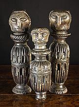 Three 17th Century Carved Folk Art Fragments;