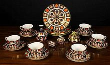 A Collection of Royal Crown Derby Bone China decor