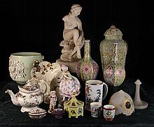 A Collection of Decorative Miscellaneous China: A