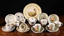 A Collection of Decorative China: To include 19th