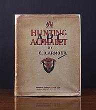 An Illustrated First Edition Book: 'A Hunting Alph