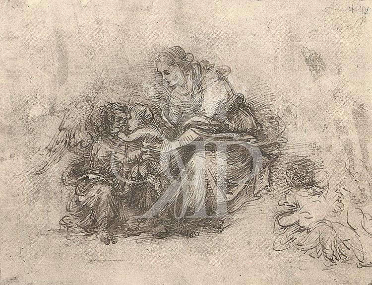 Filippino Lippi Lithographic Print