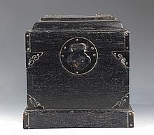 A ZITAN TABLE-TOP CHEST,