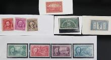 A GROUP OF 10 STAMPS