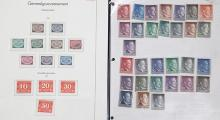 A GROUP OF 43 STAMPS