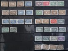 A GROUP OF 38 STAMPS