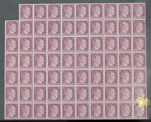 A GROUP OF 69 STAMPS