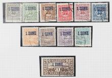 A GROUP OF 11 STAMPS