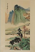 LANDSCAPE BY ZHANG DAQIAN