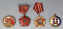 A GROUP OF FOUR REPUBLIC PERIOD MEDAL