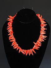 A CORAL NECKLACE (83 Pcs)