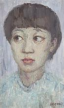A QIU LI FENG OIL PAINTING (ATTRIBUTED TO, 1958 - )
