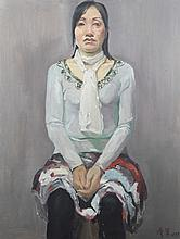 A YANG CAN JUN OIL PAINTING (ATTRIBUTED TO, 1958 - )