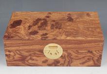 A FINE HUA LI MU JEWELRY BOX