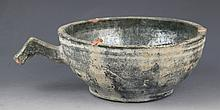 A VERY OLD GREEN COLOR PORCELAIN BOWL