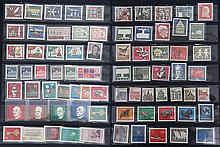 A GROUP OF 75 STAMPS FROM 1957