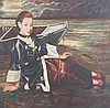 A JIANG CHANG YI OIL PAINTING