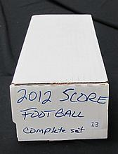2012 Score Footabll Set with Luck and RGIII Rookies