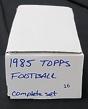 1985 Topps Footabll Set Moon Rookie