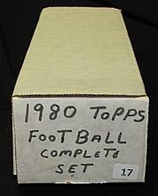 1980 Topps Football Set Simms Rookie