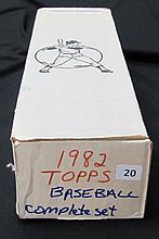 1982 Topps Baseball Set Ripken Rookie