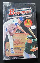 1999 Bowman Baseball Series One Sealed Box