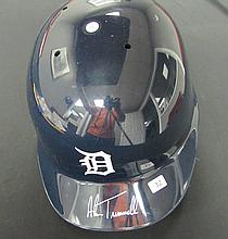 Alan Trammel autographed Detroit Tigers official Batting Helmet