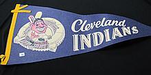 Cleveland Indians Vintage Pennant