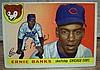 1955 topps #28 Ernie Banks