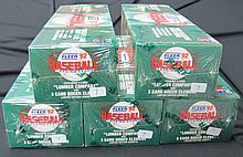1992 Fleer (5) Factory Baseball Sets