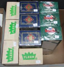 3 1992 Fleer Factory Sets 3 1992 Donruss Factory Sets and 4 1988 Fleer Factory Sets
