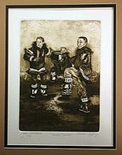 Charles Jeffrey Limited Edition Etching