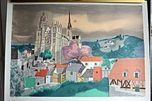 Georges Lambert Original Lithograph