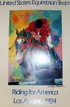 OLYMPIC JUMPER BY LEROY NEIMAN